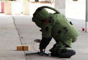 تشخیص بمب