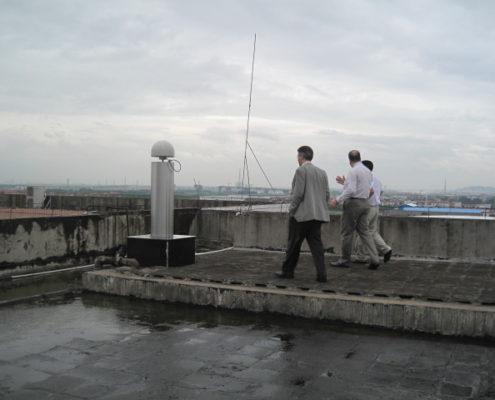 ایستگاه ثابت در چین با استفاده از STONEX CORS